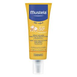 Protector Solar Mustela Spray +50 Alta Protección 200 ml