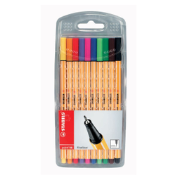 Office Max Rotulador Stabilo Point 88 Colores