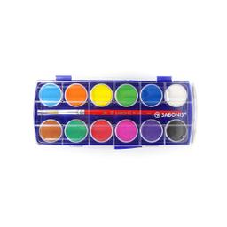 Acuarelas Sabonis 12 Colores 1 U