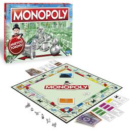 Juego de Mesa Monopoly Clásico 8+ 1 U