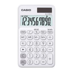 Calculadora Portátil Casio Sl-310Uc Blanco 1 U