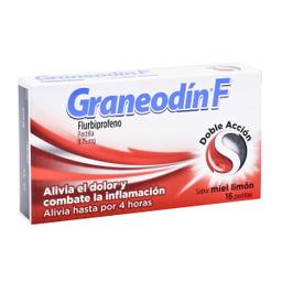 Graneodín F Doble Acción Miel Limón 10 Mg