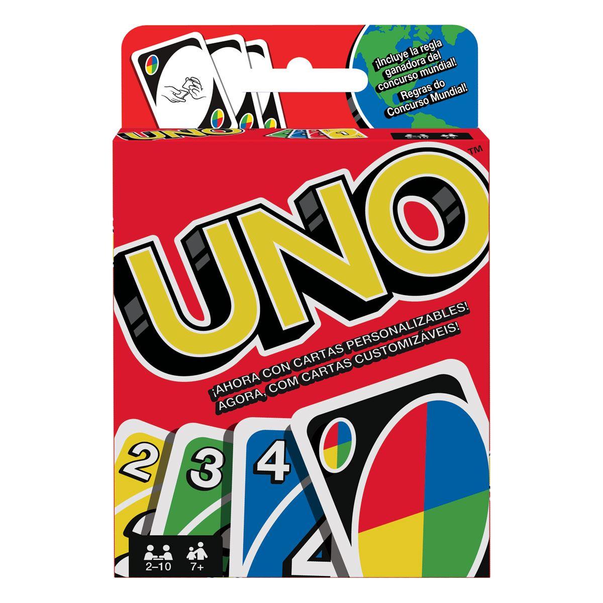 Juego de Mesa Uno Cartas W2085 1 U