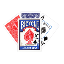 Baraja Bicycle Jumbo 88 Caja 1 U