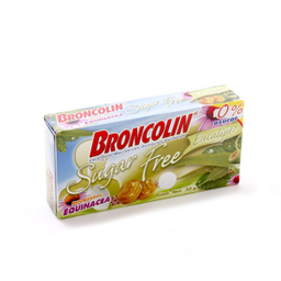 Caramelo Broncolin Sugar Free Eucalipto