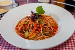 Spaguetti Vegetariano