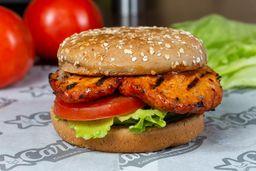 Hamburguesa Charbroiled BBQ Chicken