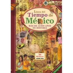 Libro Línea Del Tiempo de México - Morin M. Gómez 1 U