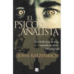 Libro El Psicoanalista - John Katzenbach 1 U