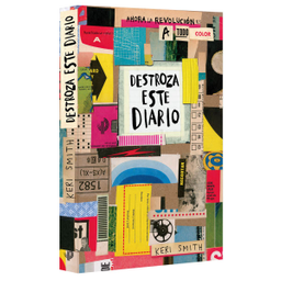 Libro Destroza Este Diario a Todo Color - Keri Smith 1 U
