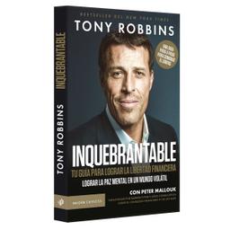 Libro Inquebrantable - Tony Robbins 1 U