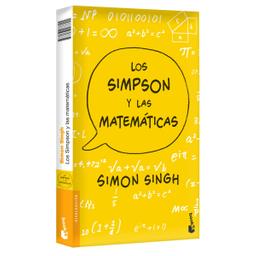 Libro Los Simpson y Las Matemáticas - Simon Singh 1 U