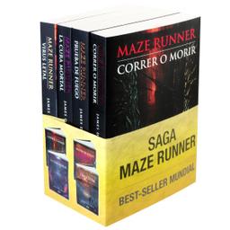 Libro Paquete Saga Maze Runner. Dashner James 4 U