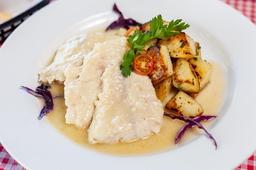 Filete de Pescado en Salsa de Limón