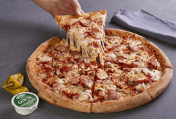 Pizza All The Meats Grande NY
