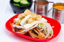 Orden de Tacos con Queso