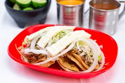 Orden de 4 Tacos con Queso