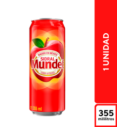 Sidral Mundet Manzana 400 ml