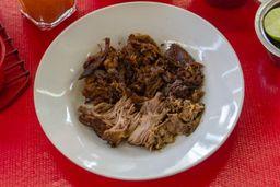 1/2 Orden Birria Mixta + Tortilla con Asientos