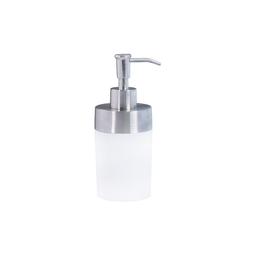Dosificador Namaro de Jabón Líquido Acero Pvc Blanco 1 U