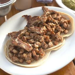 Taco con Chuleta
