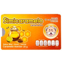Caramelo Simi Miel Limón Herbal 2.5 g x 10