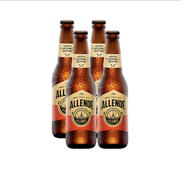 Cerveza Artesanal Allende Indian Pale Ale Botella 355 mL x 4