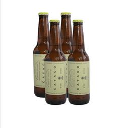 Cerveza Artesanal Colima Cayaco Botella 355 mL x 4