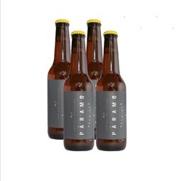 Cerveza Artesanal Colima Páramo Botella 355 mL x 4