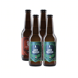 Cerveza Patito Best Seller Pack de 355 mL x 4