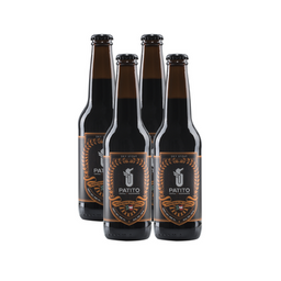 Cerveza Patito Dry Stout Botella 355 mL x 4