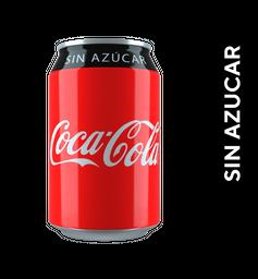 Coca Sin Azúcar Lata 355 ml