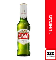 Cerveza Stella Artois Botella 330 ml