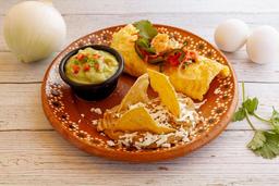Omelette de Camarón o Marlin