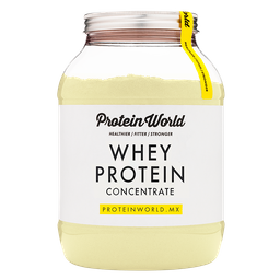 Whey Protein Concentrate Protein World Banana 900 g