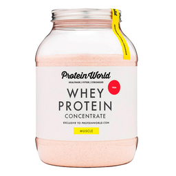 Whey Protein Concentrate Protein World Strawberry 900 g