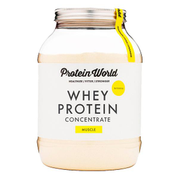 Whey Protein Concentrate Protein World Vainilla 900 g