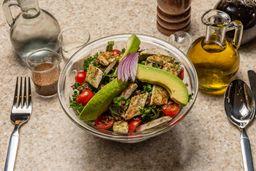 Bowl de Pollo Orgánico, Quinoa y Aguacate