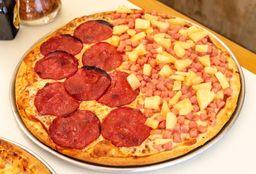 Pizza Mitad y Mitad un Ingrediente