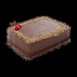 Pastel de Chocolate Tradicional Doble Capa