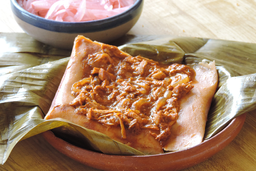 Tamal Cochinita de Pibil