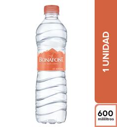 Agua Bonafont 600 ml
