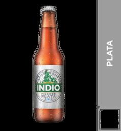 Indio Pilsner Plata 355 ml