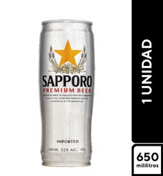 Japonesa Sapporo 650 ml