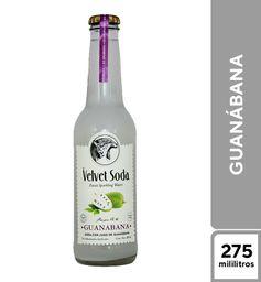 Velvet Soda Guanábana 275 ml