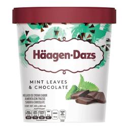 Helado Haagen Dazs Menta Y Chocolate 460 mL