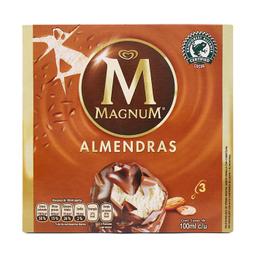 Paleta Helada Holanda Magnum Almendras 3 U De 100 mL C/U
