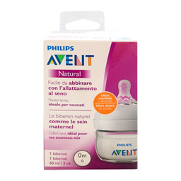 Biberón Philips Avent Natural 60 mL