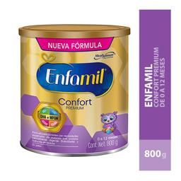 Fórmula Láctea Enfamil Confort Premium De 0 A 12 Meses 800 g