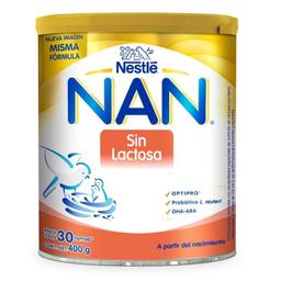 Fórmula Para Lactantes Nan Sin Lactosa De 400 g